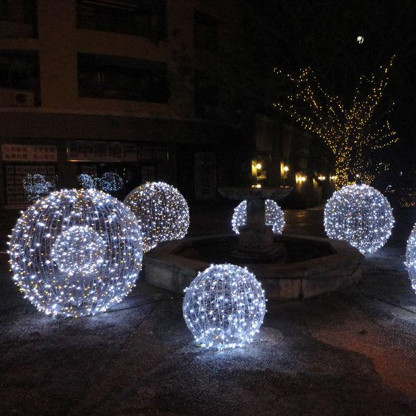 Led weihnachtsbeleuchtung ball weihnachtsschmuck produkt id ...