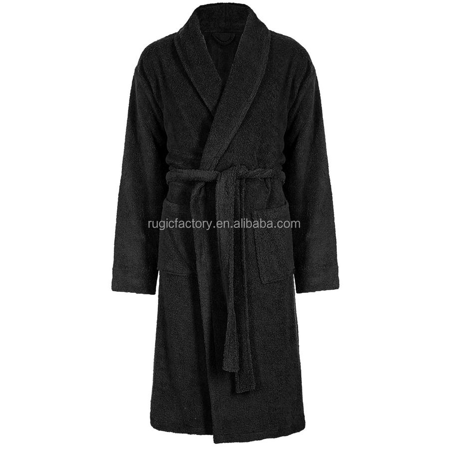 0c505d8b77 Adore Home Mens and Ladies 100% Cotton Terry Towelling Adults Shawl Collar Bathrobe  Dressing Gown Bath Robe