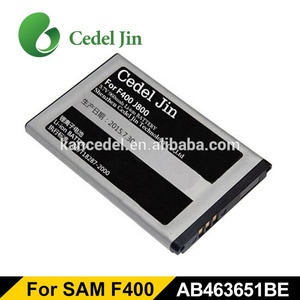 New lithium Battery for samsung dual sim phones C6112 Duos S3650 Corby C3530 F400 J800 L700 type AB463651BU telephone portable
