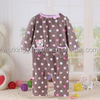 Baby Rompers Jumpsuit Infant Pajamas Newborn Kids Clothing Onesie