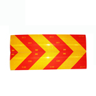 RSK01A Factory Price Wholesale Light Road Sign Transparent Truck Car 3m Safety Reflective Sticker