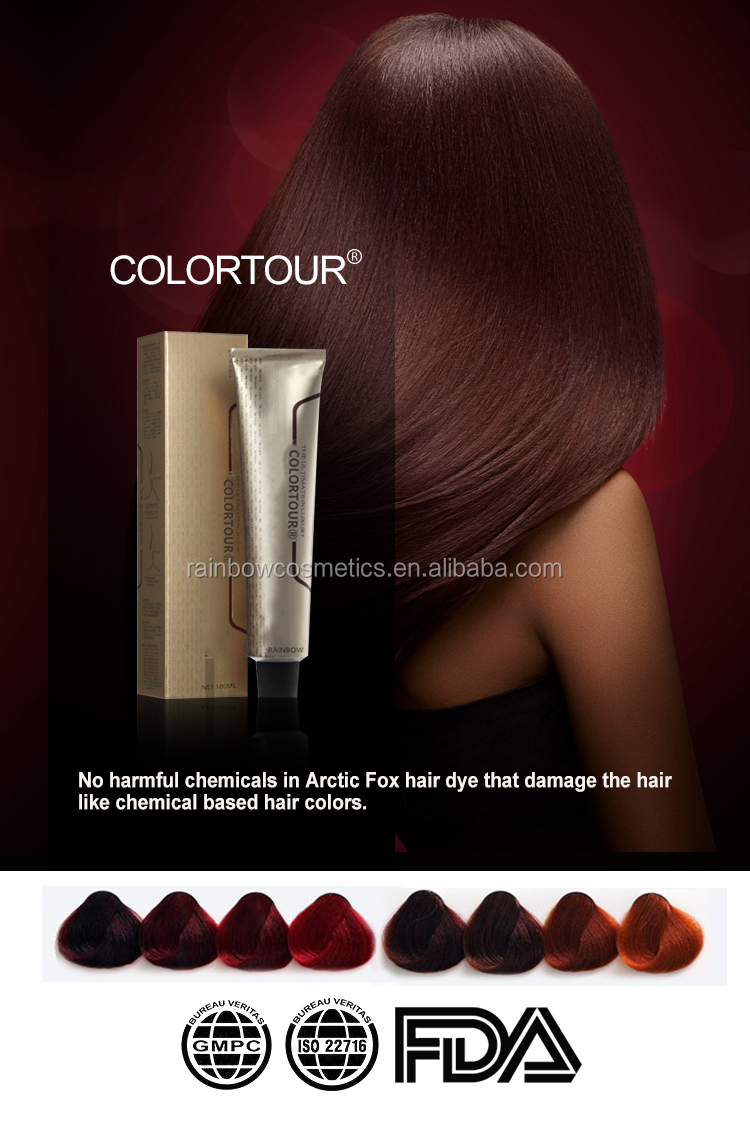 Colortour Wholesale non-allergic harmless natural hair dye