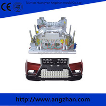 hot sale vehicle plastic front bumper injection mould plastic car bumper mould making, car injection mould