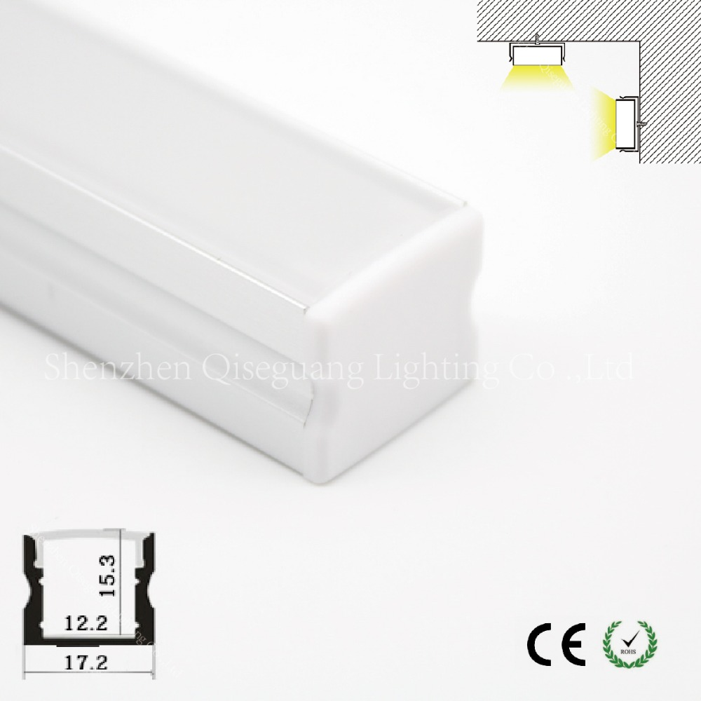 Aluminum extruded 1200mm t8 led tube profile