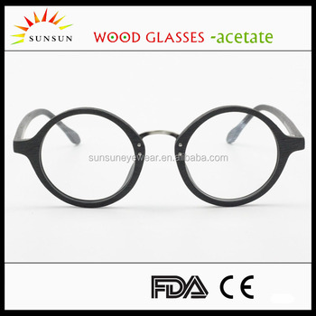 Custom Fashion Men Women Reading Glasses Frames Big Round Rimless ...