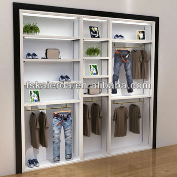Modern Clothes Shop Open Display Cabinets/Clothes Shop Display Cabinets