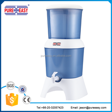 ceramic gravity water filter company with non-electric for home office use