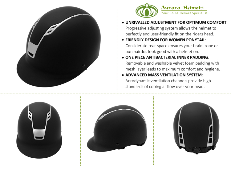 China Equestrian Manufacturer Horse Riding Helmet Sale 5