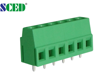 Screw clamp mount terminal block euro type for PCB Board
