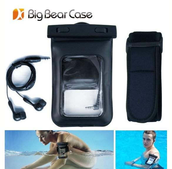PVC waterproof cell phone bag waterproof case for htc desire 816