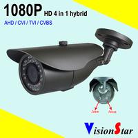 VisionStar Analog hybrid cctv starlight camera 1080p bullet housing sony imx291 sensor security system