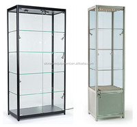 glass showcase/display cases for sale