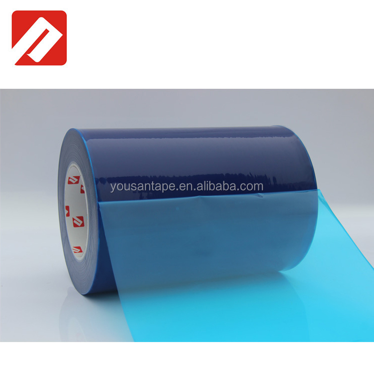 2017 alibaba hot ! 3m tape blue pe protective film for stainless steel