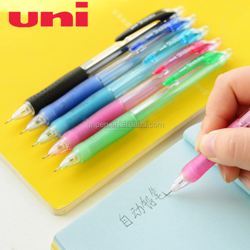 Hot selling uni auto pencil mechanical pencil M5-100 0.5mm with eraser