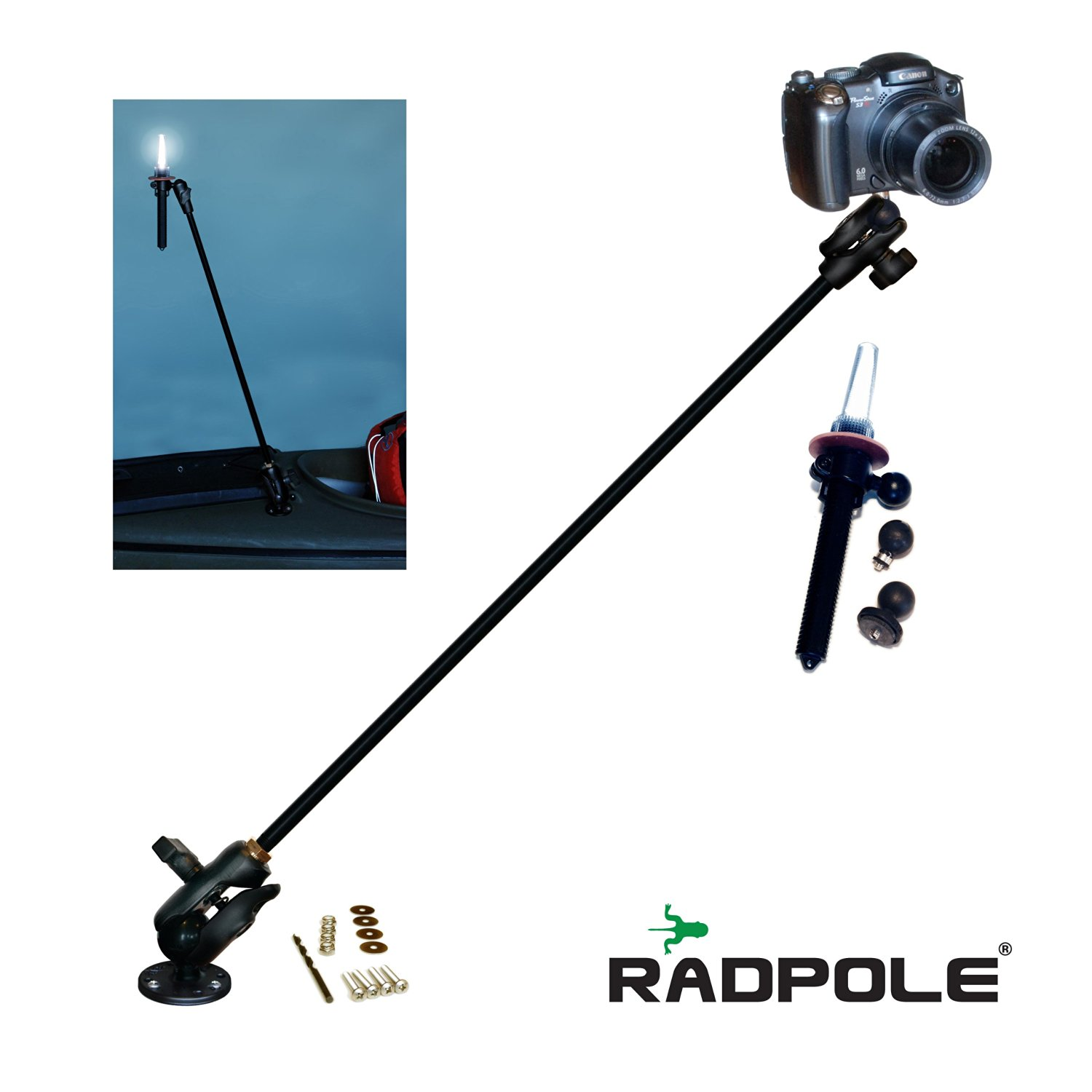 """Kayalu Radpole® 31"""" Expedition Kit 