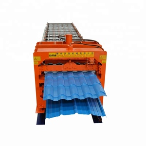 Glazed And Trapezoidal Roofing Tile Profiles Double Layer Roll Forming Machine