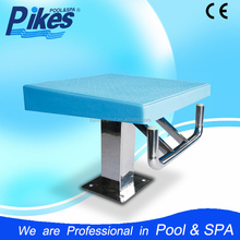 China Factory supply One Or Two step Competition swimming pool Starting Platform