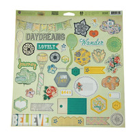 custom made scrapbook chipboard shapes