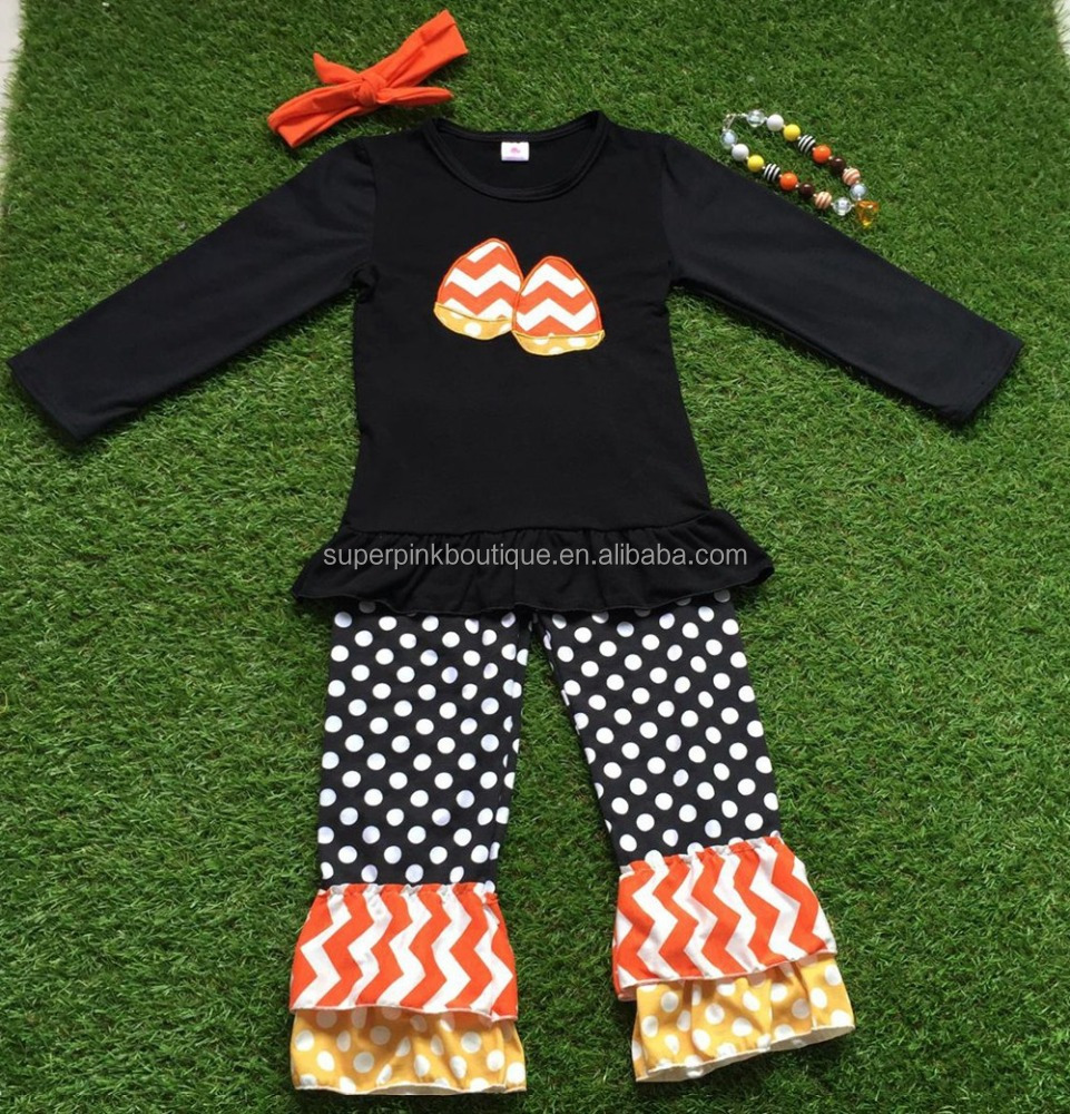 wholesale hand smocked pure baby clothing for halloween