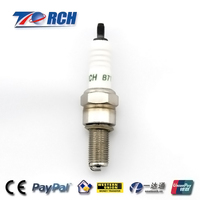 Resistor spark plug for oil and gas car