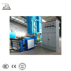 Shandong Kunzheng 5090 poultry cooling cell pad making line corrugated wet curtain production line