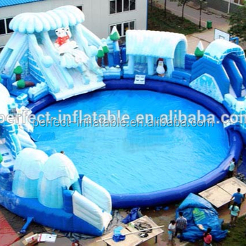 Giant Inflatable Water Slide Adult Size Inflatable Pool Adult Water Slides  Inflatable Commercial Water Park - Buy Giant Inflatable Water Slide,Adult