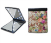fashionable 2 sides cosmetic mirror with led lights/promotion gift cosmetic handbag mirror
