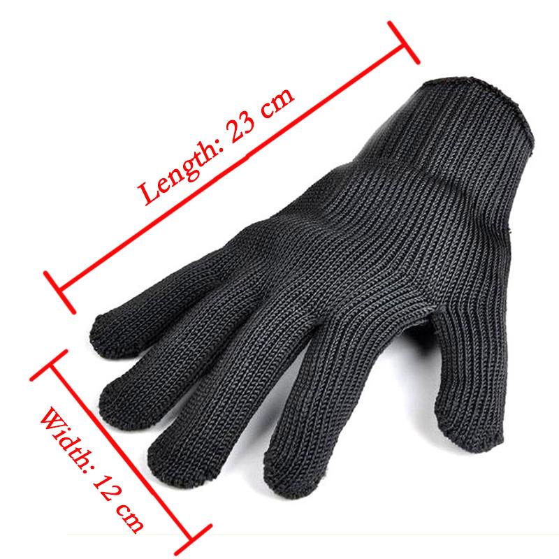 1 пара кевлар перчатки доказательство защита из нержавеющей стальной проволоки перчатки металлических сеток мясник анти - резки дышащий рабочие перчатки