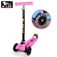 China factory Direct Supply wholesale 3 wheel scooter foldable kids outdoor rides kick scooter