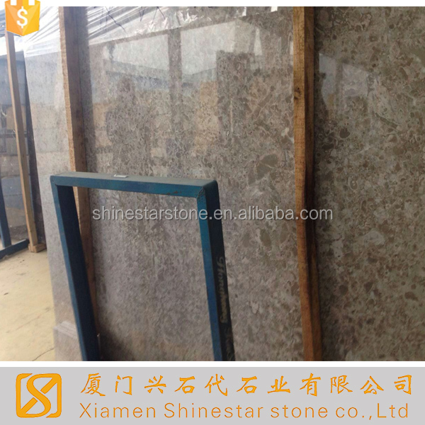 New Cream Marfil Marble Rose Grey Marble Slab Price