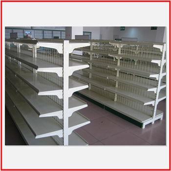 Cheap Standard Metal Wall Gondola Pharmacy Shelving