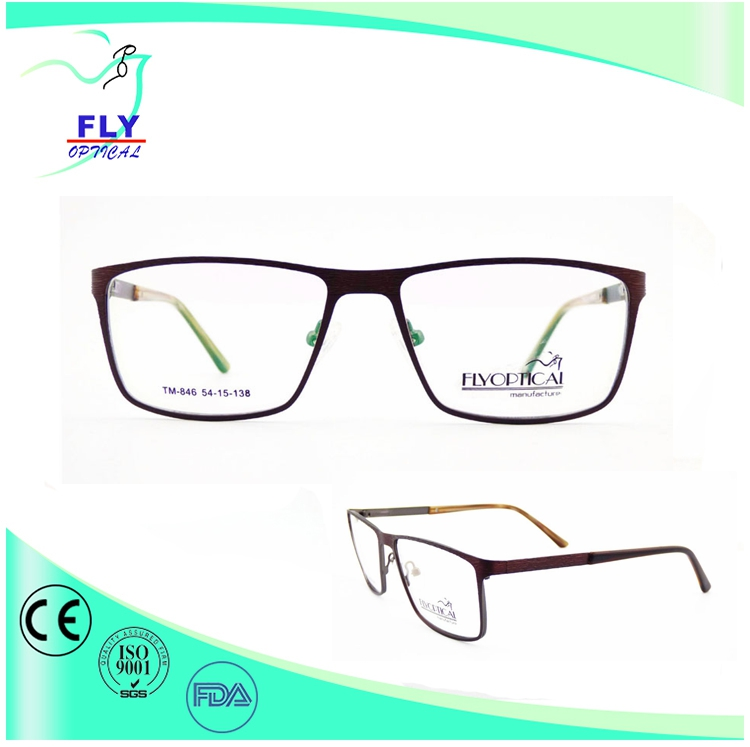 glasses frames metal big size men styles optical frames eyewear