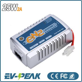 Ev-peak En2 1-8s Nixx Battery 25w 2.0a Mini Power Charger Car ...