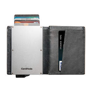 Wallet Money Clip Metal Business Credit Card Holder Casekey High Quality Aluminum Credit Card Holder