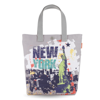 Printed Canvas Cotton Tote Bag Online