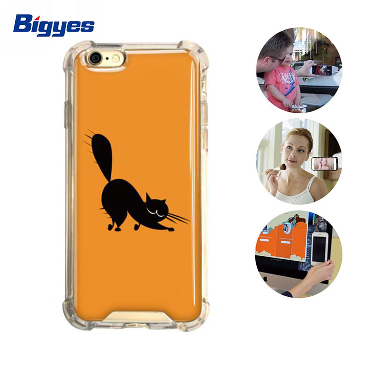 Hot sale animal anti gravity case for iphone 7 7 Plus nano suction antigravity phone case