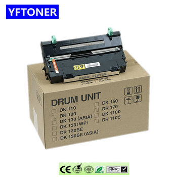 YFtoner Drum Unit for Kyocera DK110 FS-1016 FS1500 FS-1130 FS-1135 M2030DN M2530DN Drum Kit Copier Parts
