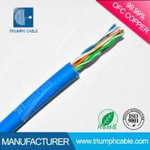 China Factory Fire Resistant UTP Cat 6 Lan Cable