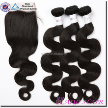 Alibaba Wholesale High Quality Hair Bundles Own Factory Unprocessed 6A Grade Wavy Brazillian Hair
