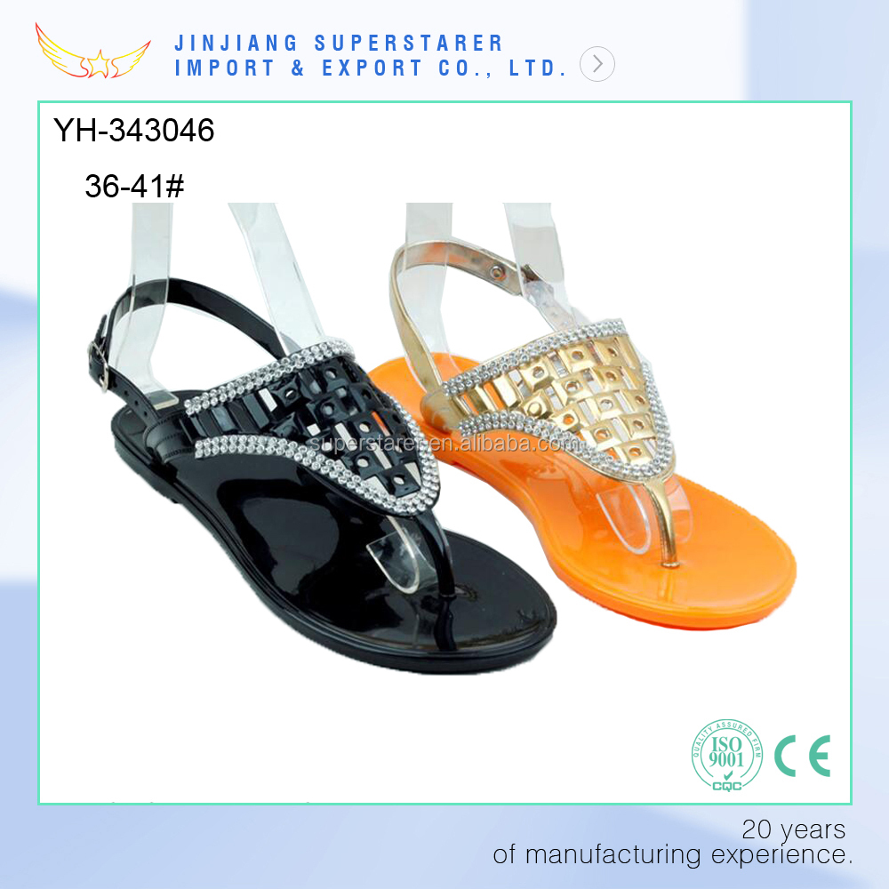 Summer Beach Ladies Fancy Sandals OEM Shoes Women