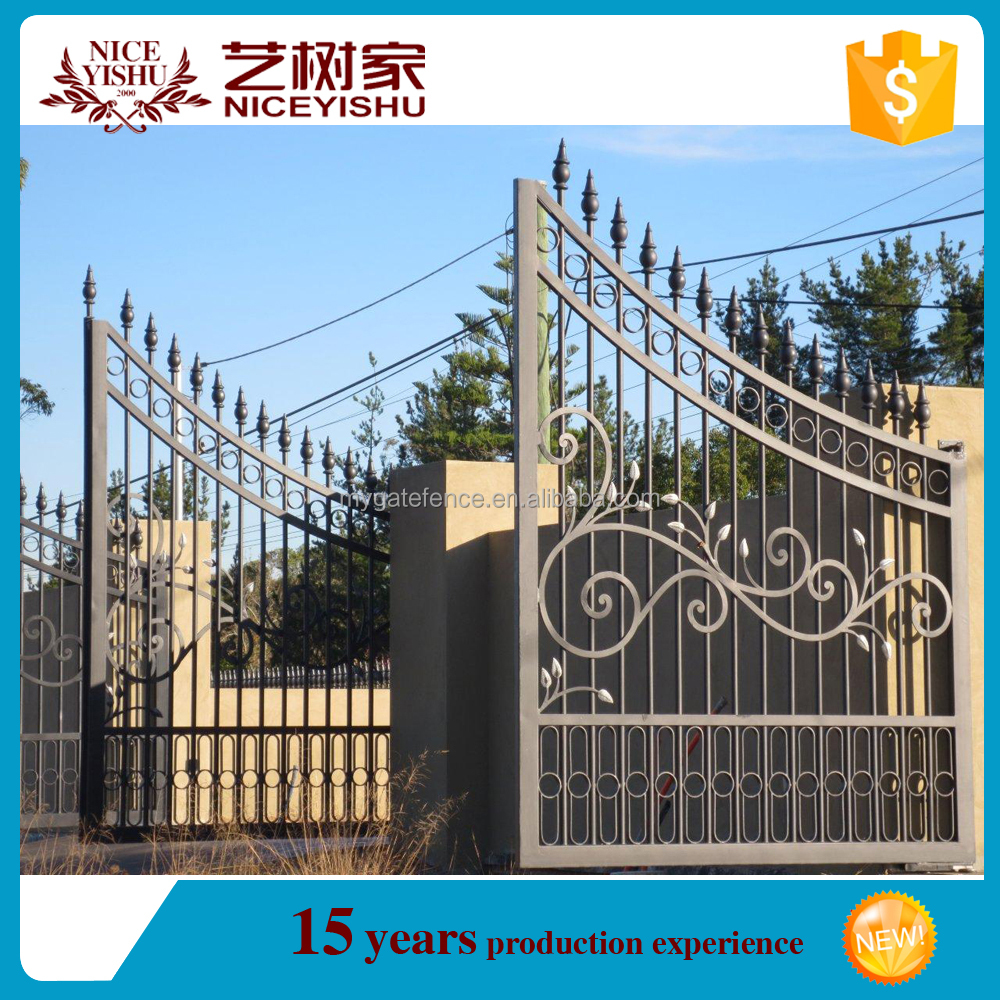 Alibaba Iron Gate/removable Swimming Pool Safety Fence Child Safety Pool  Fence - Buy Sliding Iron Main Gate Design,Wrought Iron Grill Gate ...