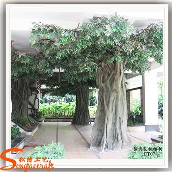 indoor artificial tree guard artificial tree stumps large artificial banyan tree view. Black Bedroom Furniture Sets. Home Design Ideas
