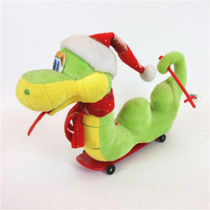 Chinese mini electronic plush animal snake toy manufacturers
