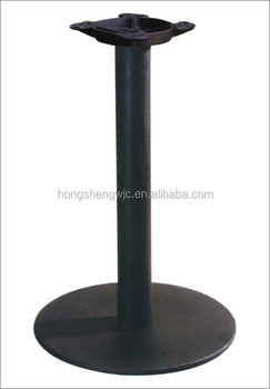 45cm Diameter Cast Iron Disc Table Base Iron Pipe Metal Table Leg HS A036