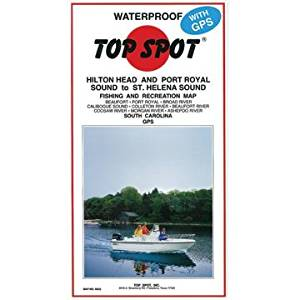 Top Spot Map N243 Offshore N.C. by Top Spot