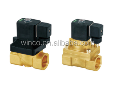 5404 Brass Material high pressure solenoid air valve , release valve