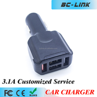 MINI Electric Type and Standard Battery Use 4-in-1 car charger for mobile phone