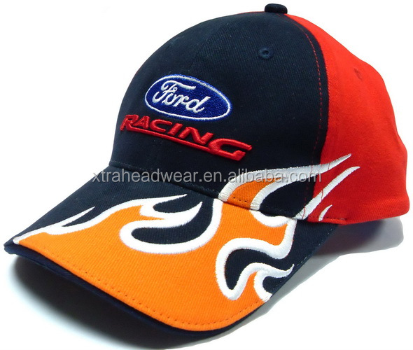 Ford Embroidery Racing Baseball Cap - Buy Racing Cap 50898e75e28