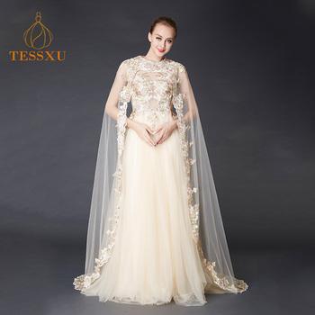 2018 Luxury White Wedding Dress Lace Elegant Party Wear Bridal Floor