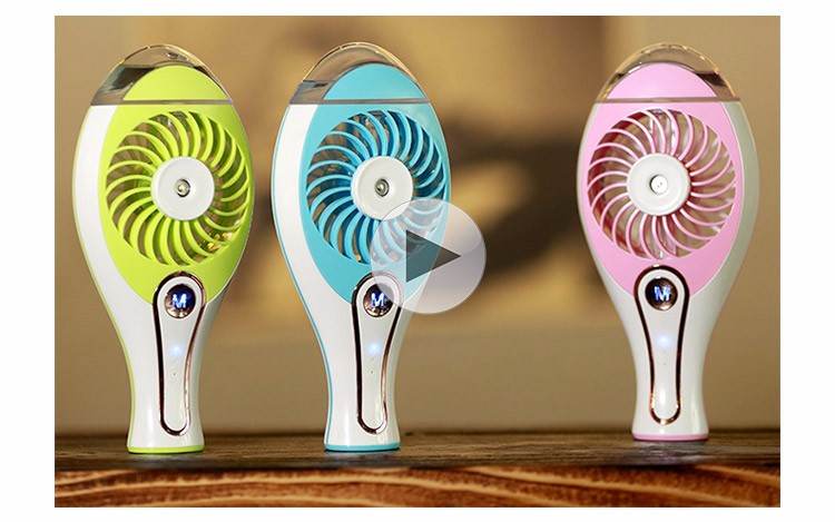 Wholesale New Design Portable Handheld Spray Fan